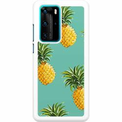 Huawei P40 Pro Hard Case (Vit) Ananas