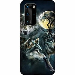 Huawei P40 Pro LUX Mobilskal (Matt) Wolf / Varg