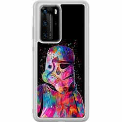 Huawei P40 Pro Soft Case (Frostad) Star Wars Stormtrooper