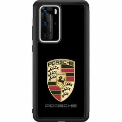 Huawei P40 Pro Soft Case (Svart) PORSCHE