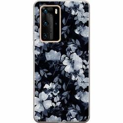 Huawei P40 Pro Thin Case Blommor