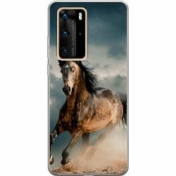 Huawei P40 Pro Thin Case Häst