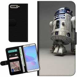 Huawei Y6 (2018) Billigt Fodral R2D2 Star Wars