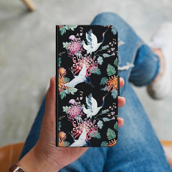 Apple iPhone 11 Plånboksskal Botanical Birds