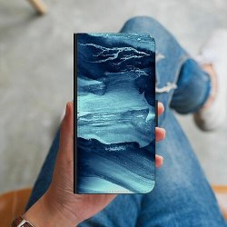 Huawei Y6 (2018) Plånboksskal Deep Sea