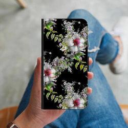 Samsung Galaxy A21s Plånboksskal Flower star