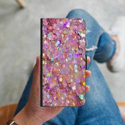 Samsung Galaxy S10 Plus Plånboksskal Glitter