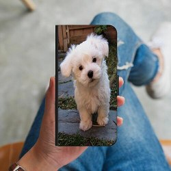 Huawei Y6 (2018) Plånboksskal Hund