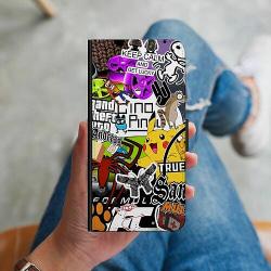 Huawei Y6 (2018) Plånboksskal Stickers