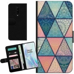 OnePlus 8 Billigt Fodral Mandala triangles