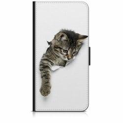 Sony Xperia 5 Plånboksfodral Katt