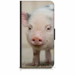 Samsung Galaxy A02s Plånboksfodral Happy Pig