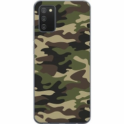 Samsung Galaxy A02s Mjukt skal - Militär