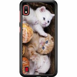 Samsung Galaxy A10 Hard Case (Svart) Katter