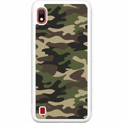 Samsung Galaxy A10 Soft Case (Vit) Military