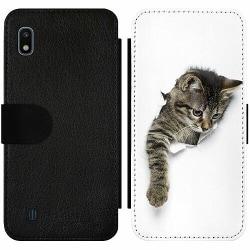 Samsung Galaxy A10 Wallet Slim Case Katt