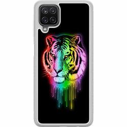 Samsung Galaxy A12 Soft Case (Frostad) Tiger