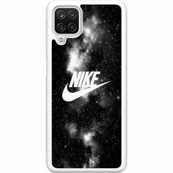 Samsung Galaxy A12 Soft Case (Vit) Nike