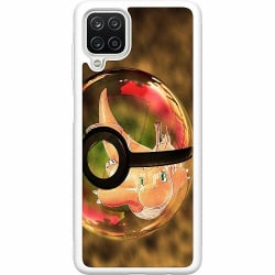 Samsung Galaxy A12 Soft Case (Vit) Pokemon