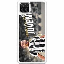 Samsung Galaxy A12 Soft Case (Vit) Ronaldo