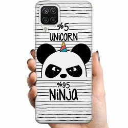 Samsung Galaxy A12 TPU Mobilskal Ninja Panda With A Twist