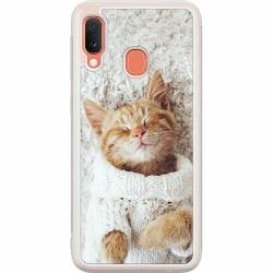 Samsung Galaxy A20e Soft Case (Frostad) Katt