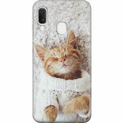 Samsung Galaxy A20e Thin Case Katt