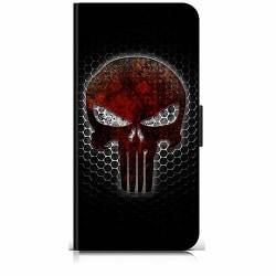 Samsung Galaxy A20s Plånboksfodral Dödskalle