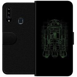 Samsung Galaxy A20s Wallet Case r2d2