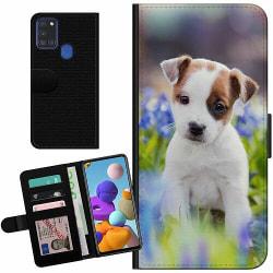 Samsung Galaxy A21s Billigt Fodral Hund