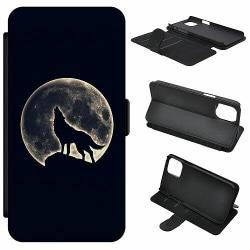 Samsung Galaxy S20 Plus Mobilfodral Howling Moon Wolf