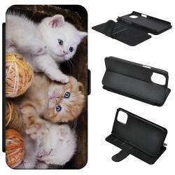 Samsung Galaxy A21s Mobilfodral Kittens and Yarn