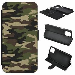 Apple iPhone 5 / 5s / SE Mobilfodral Militär