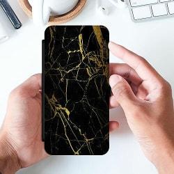 Samsung Galaxy A51 Slimmat Fodral Marble Black&Gold