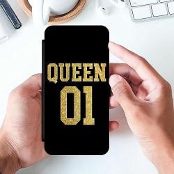 Samsung Galaxy A51 Slimmat Fodral Queen 01 Black Gold