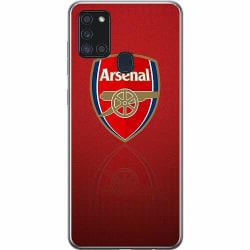Samsung Galaxy A21s Mjukt skal - Arsenal