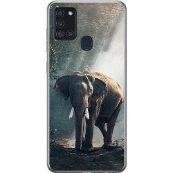 Samsung Galaxy A21s Mjukt skal - Elefant