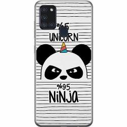 Samsung Galaxy A21s Mjukt skal - Panda
