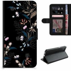 Samsung Galaxy A32 5G Lyxigt Fodral Blommor