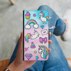 Samsung Galaxy J6 Plus (2018) Plånboksskal Stickers