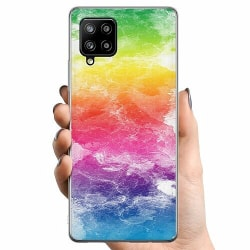 Samsung Galaxy A42 5G TPU Mobilskal Watercolor Fade