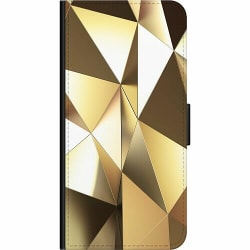 Samsung Galaxy A42 5G Wallet Case Golden Pattern