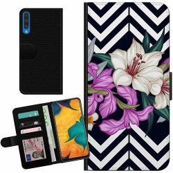 Samsung Galaxy A50 Billigt Fodral Blommor