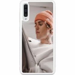 Samsung Galaxy A50 Soft Case (Vit) Justin Bieber 2021