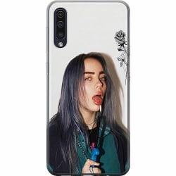 Samsung Galaxy A50 Mjukt skal - Billie Eilish 2021