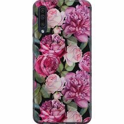 Samsung Galaxy A50 Mjukt skal - Blommor