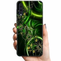 Samsung Galaxy A50 TPU Mobilskal Blommor