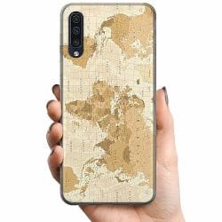 Samsung Galaxy A50 TPU Mobilskal Map