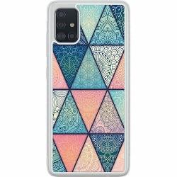 Samsung Galaxy A51 Soft Case (Frostad) Mandala triangles