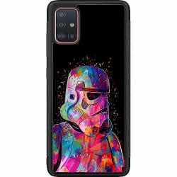 Samsung Galaxy A51 Soft Case (Svart) Star Wars Stormtrooper